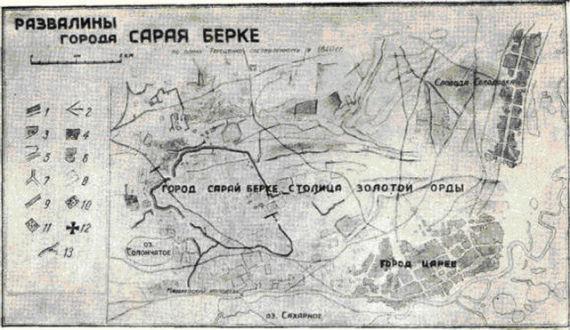 Развалины Берке-Сарая