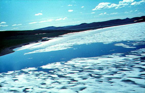 озеро нетающего льда