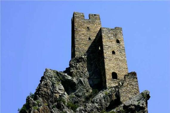 замок Вовнушки в Ингушетии