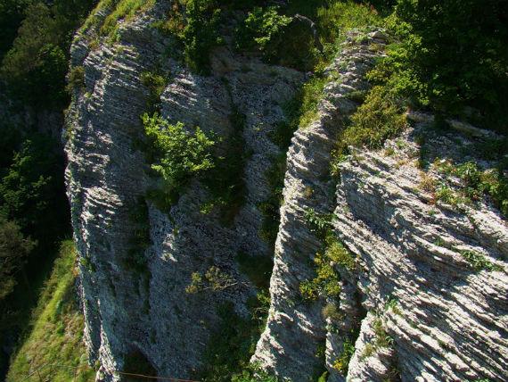 Белые скалы в Сочи