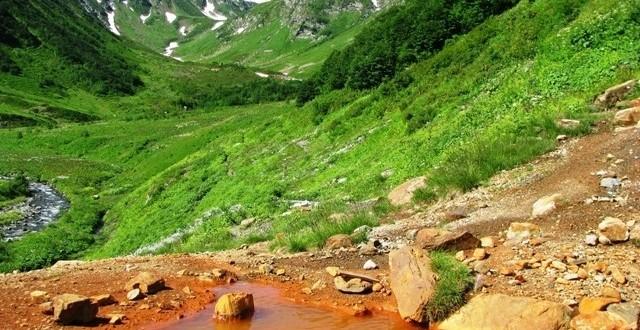 Кислые источники в Карачаево-Черкесии