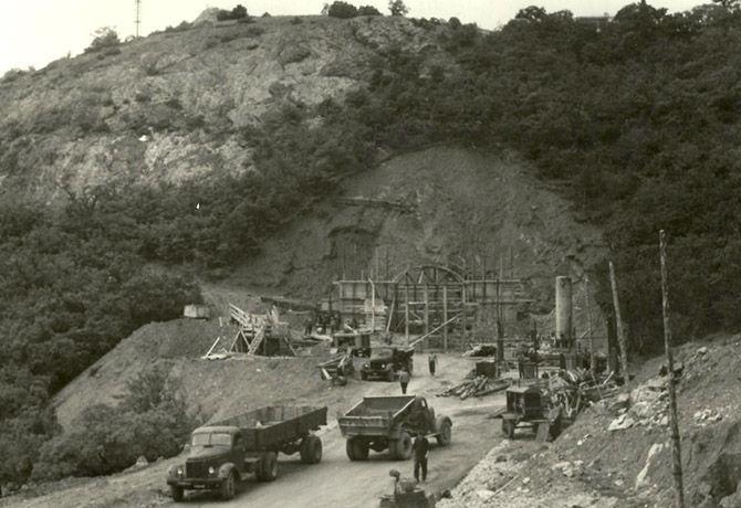строительство объекта 825 ГТС