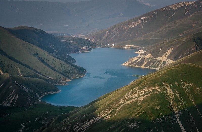 озеро Кезенойам в Чечне