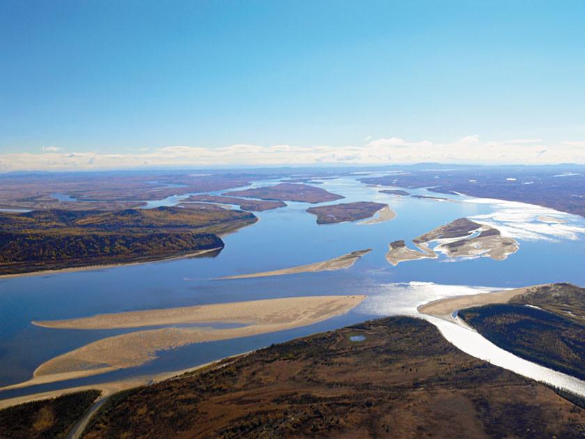 какая река россии самая широкая