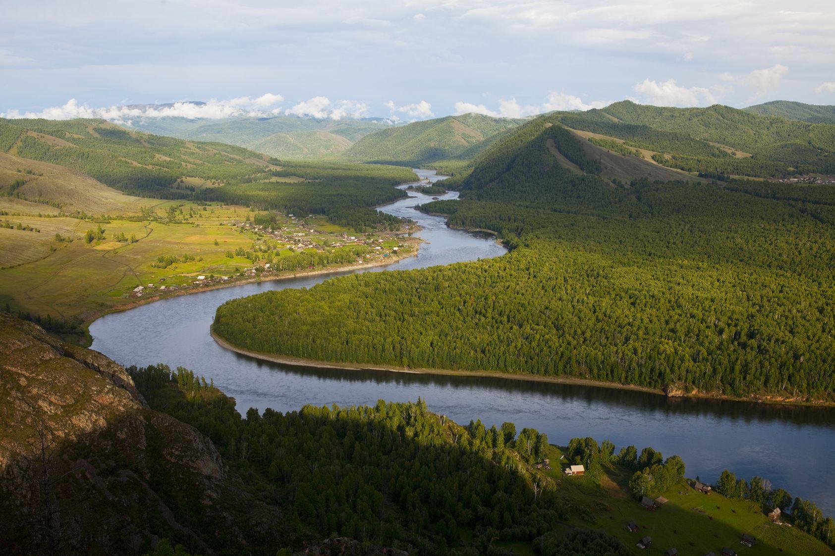 топ самых больших рек в россии
